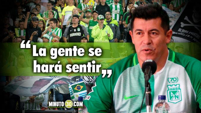 678 Jorge Almiron aspira darle este miercoles el primer titulo a Nacional1