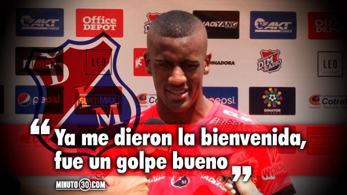 678 Jorge Segura conto como esta f%C3%ADsicamente y cual sera su aporte al Independiente Medellin