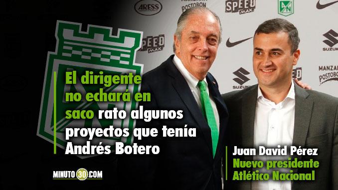 678 Juan David Perez habla sobre algunos de los retos que tendra con Nacional