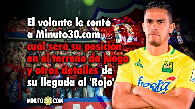 678 Yulian Anchico llega a Independiente Medellin con muchas