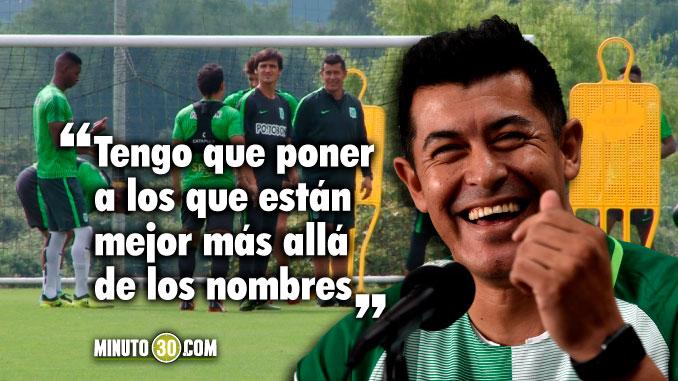 Almiron ya tiene en la cabeza el equipo para la Copa Libertadores
