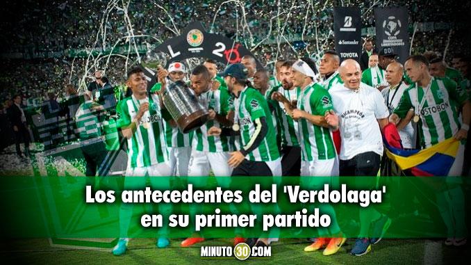 Asi le ha ido a Nacional en su debut en las Copa Libertadores