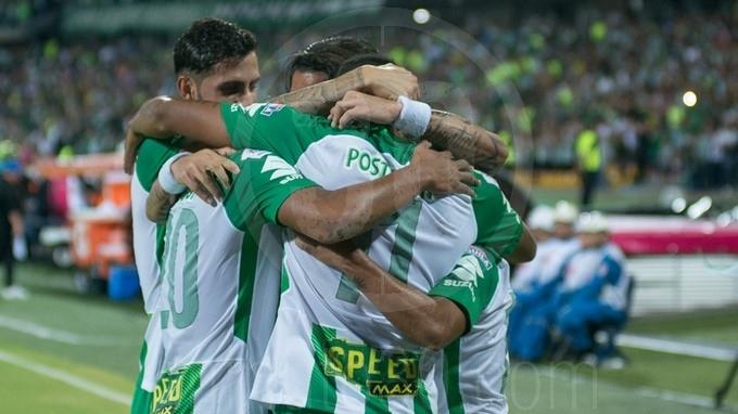 Atletico Nacional celebracion gol