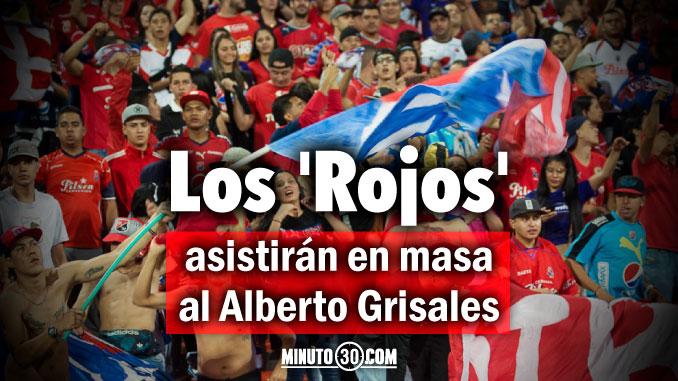 El viernes saldra a la venta boleteria para partido Rionegro Medellin