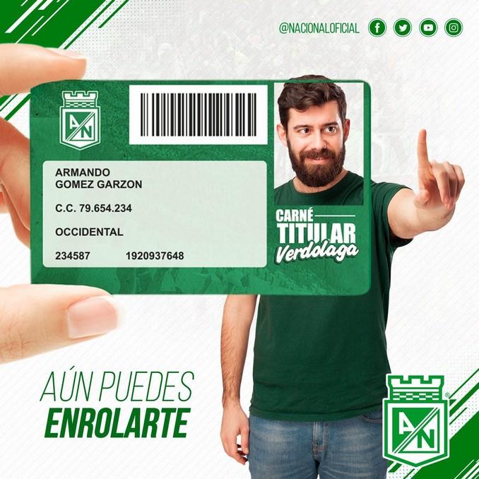 Enrolamiento hinchas Atletico Nacional 1