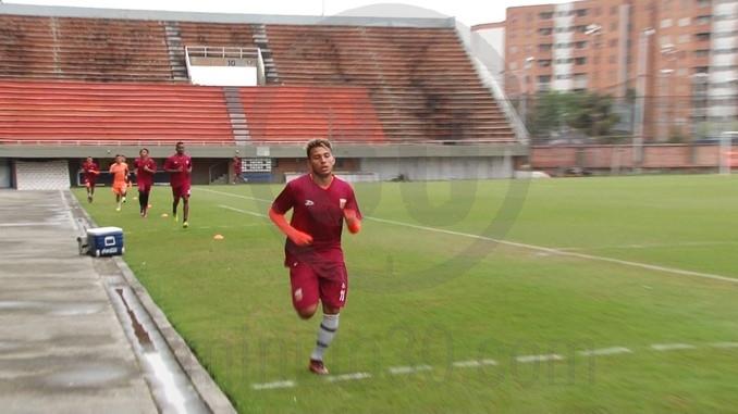 Entrenamiento de Envigado FC 1