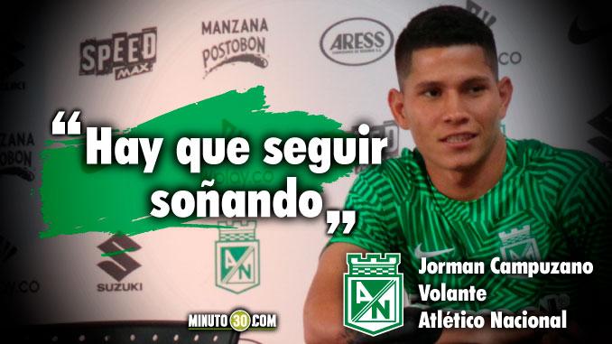 Es una emocion inmensa la que estoy sintiendo Jorman Campuzano previo al debut en Libertadores