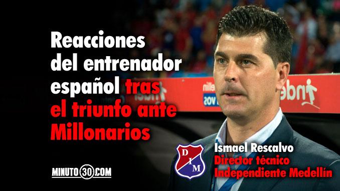 Ismael Rescalvo conto por que incluyo a Brayan Angulo en la titular
