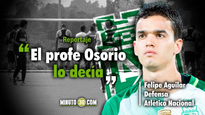 Legado de Osorio sera fundamental ante Colo Colo sugiere Aguilar