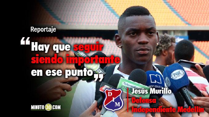 Murillo pretende volver a anotar este miercoles ante Millonarios