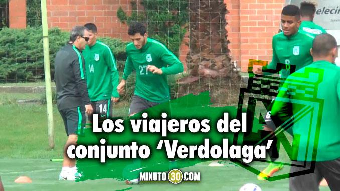 Nacional viajo a Chile de cara a su debut en Copa Libertadores