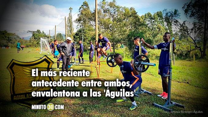 Rionegro se prepara con la motivacion de frenar al lider Independiente Medellin