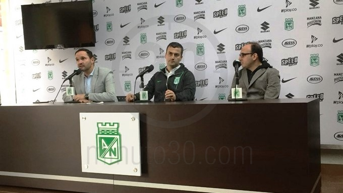 atletico nacional presentacion presidente