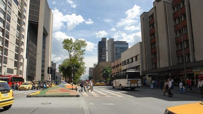 Avenida Oriental, centro de Medellín