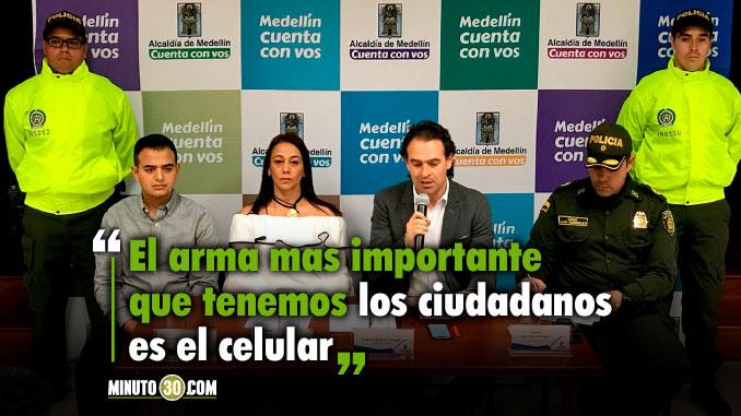 Aplicacion en contra de los hurtos y los ladrones sera lanzada en Medellin