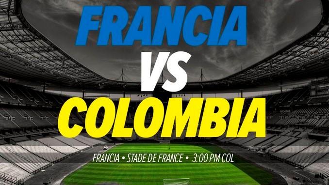 Colombia vs Francia D