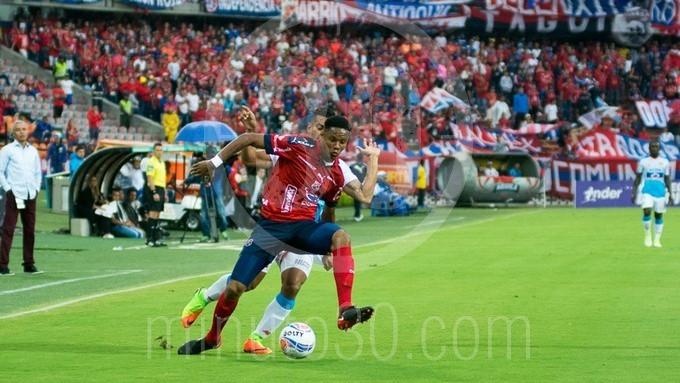 DIM independiente medellin contra junior Atanasio Girardot 34