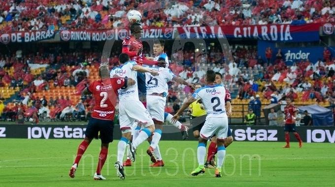 DIM independiente medellin contra junior Atanasio Girardot 35