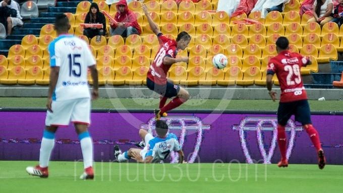 DIM independiente medellin contra junior Atanasio Girardot 49