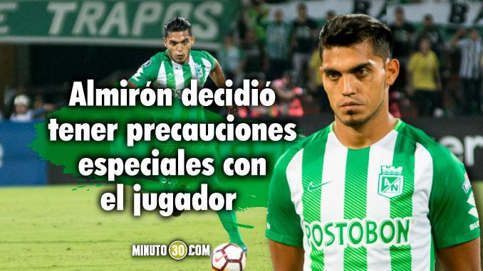 Delgado considera que el futbol colombiano es muy competitivo