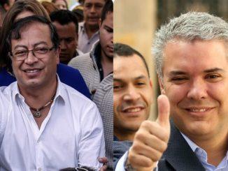 Iv%C3%A1n Duque y Gustavo Petro