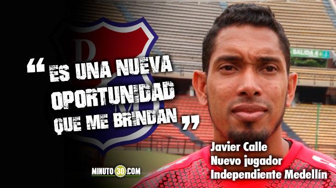 Javier Calle muy feliz de volver a casa