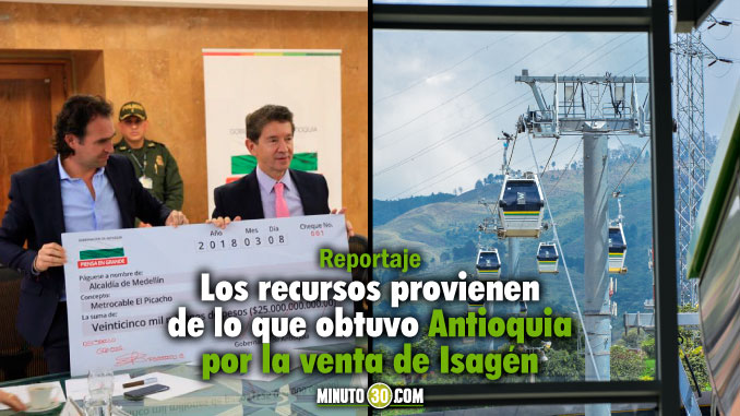 Gobernación entregó $25.000 millones para la construcción del Metrocable de El Picacho