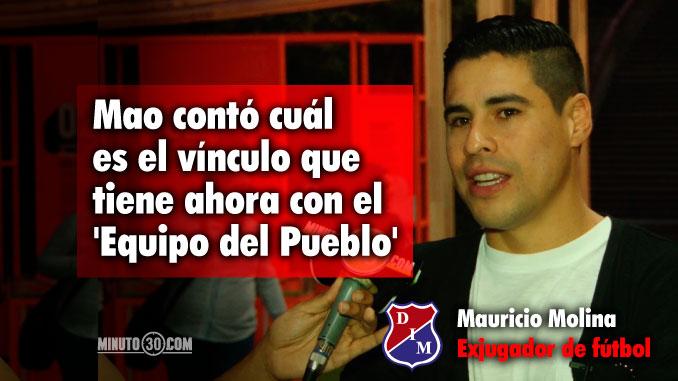Mauricio Molina habla de su presente tras su salida del Medellin