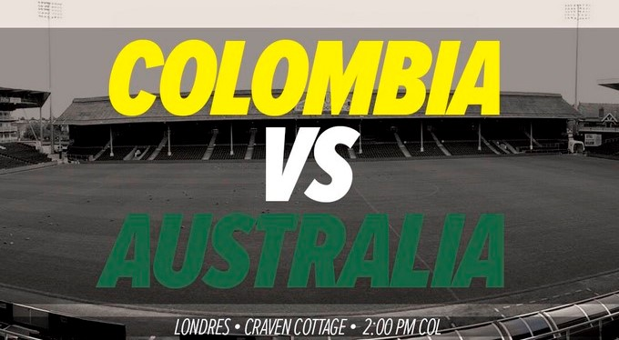colombia ante australia Copiar