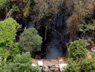 desastre ambiental petroleo crudo
