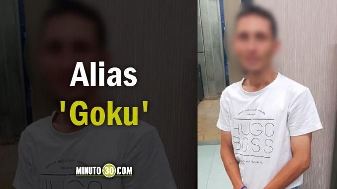 Andrés Felipe Franco Moná, alias Goku