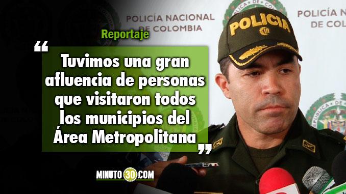 Buen balance en temas de seguridad son los resultados de Medellin en Semana Santa