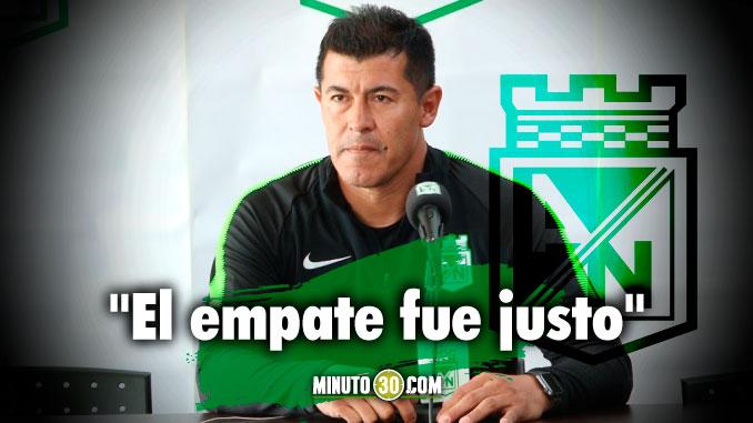 El empate estuvo bien a nosotros nos sirve el punto Jorge Almiron