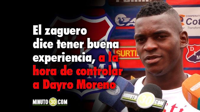 Jesus Murillo espera regresar a la titular de Medellin en reemplazo de Segura