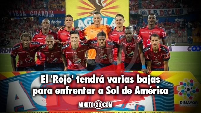 Medell%C3%ADn defini%C3%B3 los viajeros hacia Paraguay para partido de Sudamericana
