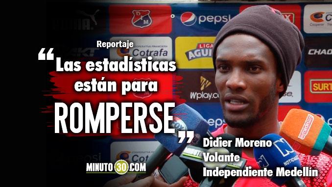 Nos hemos caracterizado por quitar invictos Didier Moreno