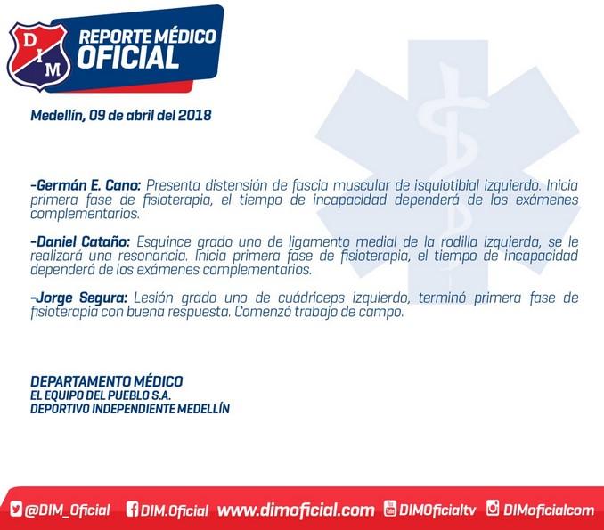 Parte medico Medellin