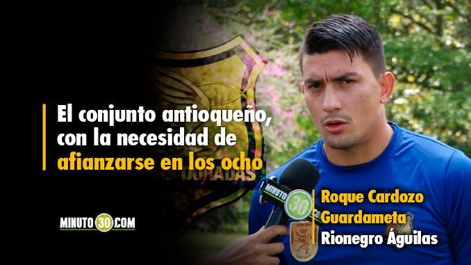 Rionegro listo para enfrentar un rival de jerarquia