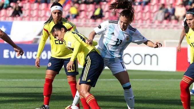 Seleccion colombia femenina vs argentina