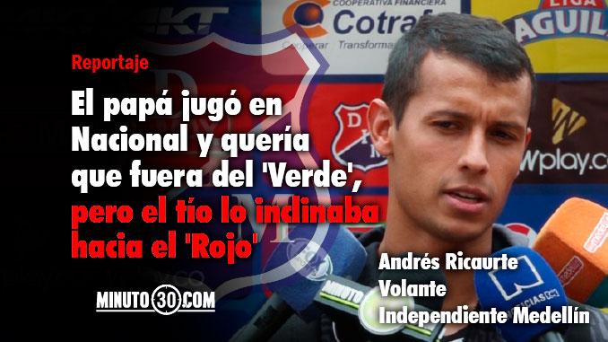 Viv%C3%AD clasicos como hincha de Nacional y como hincha de Medellin Andres Ricaurte