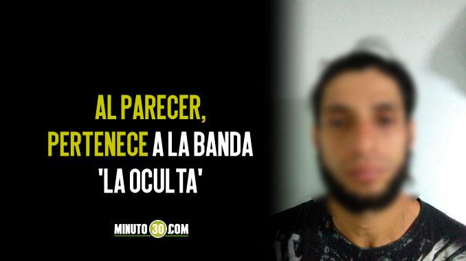 Cayó alias 'Ñato', señalado de extorsionar a un empleado de una ruta buses de San Antonio de Prado