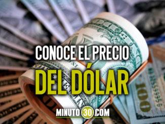 conoce el precio del dolar
