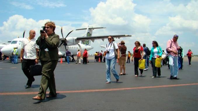 Extranjeros, visitantes, turistas