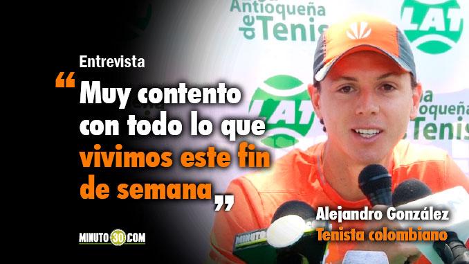lejandro Gonz%C3%A1lez dialogo con Minuto30 sobre el triunfo de Colombia en Copa Davis