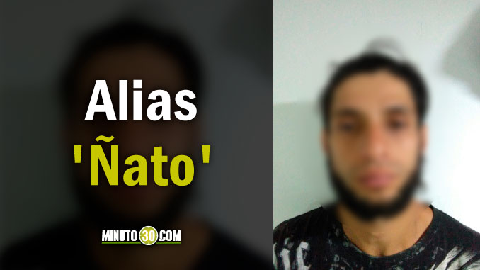 Luis Fernando Quintero Muñoz, alias Ñato.
