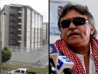 Santrich en la cárcel La Picota de Bogotá