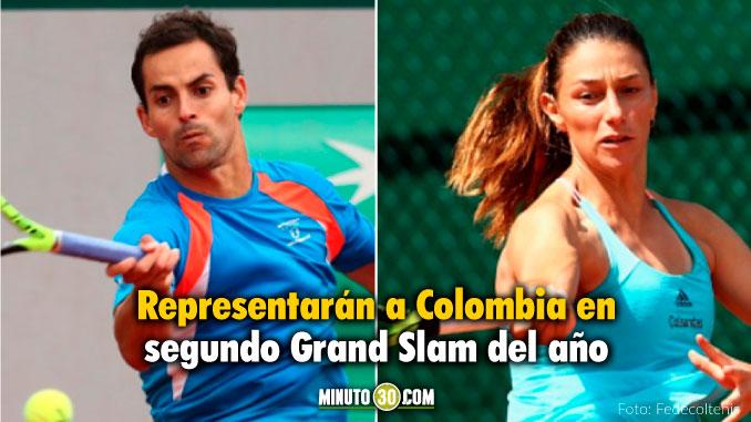 Santiago Giraldo y Mariana Duque clasificaron al cuadro principal de Roland Garros