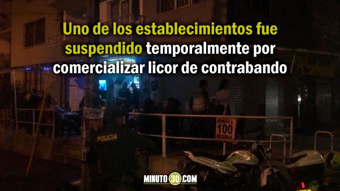 Unos suspendidos y otros clausurados tras operativos en locales comerciales en la Comuna 13