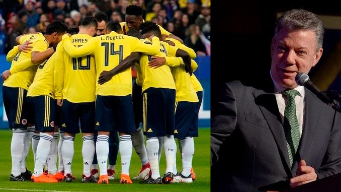 Este jueves Santos entregará el Pabellón Nacional a la Selección Colombia