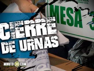 CIERRE DE URNAS